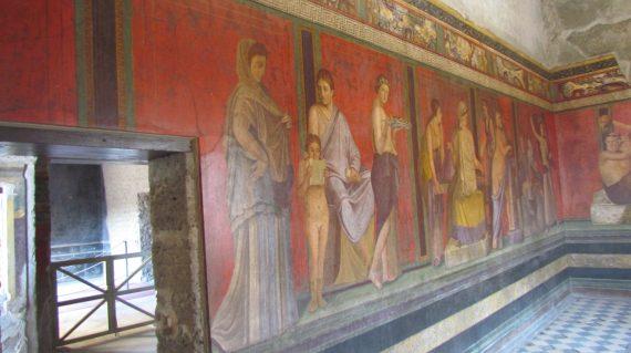 affreschi pompei villa